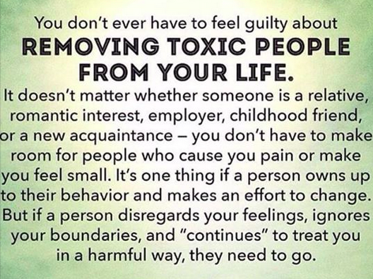 Toxic People - Author Unknown